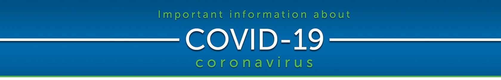 COVID-19 Blog Banner Image