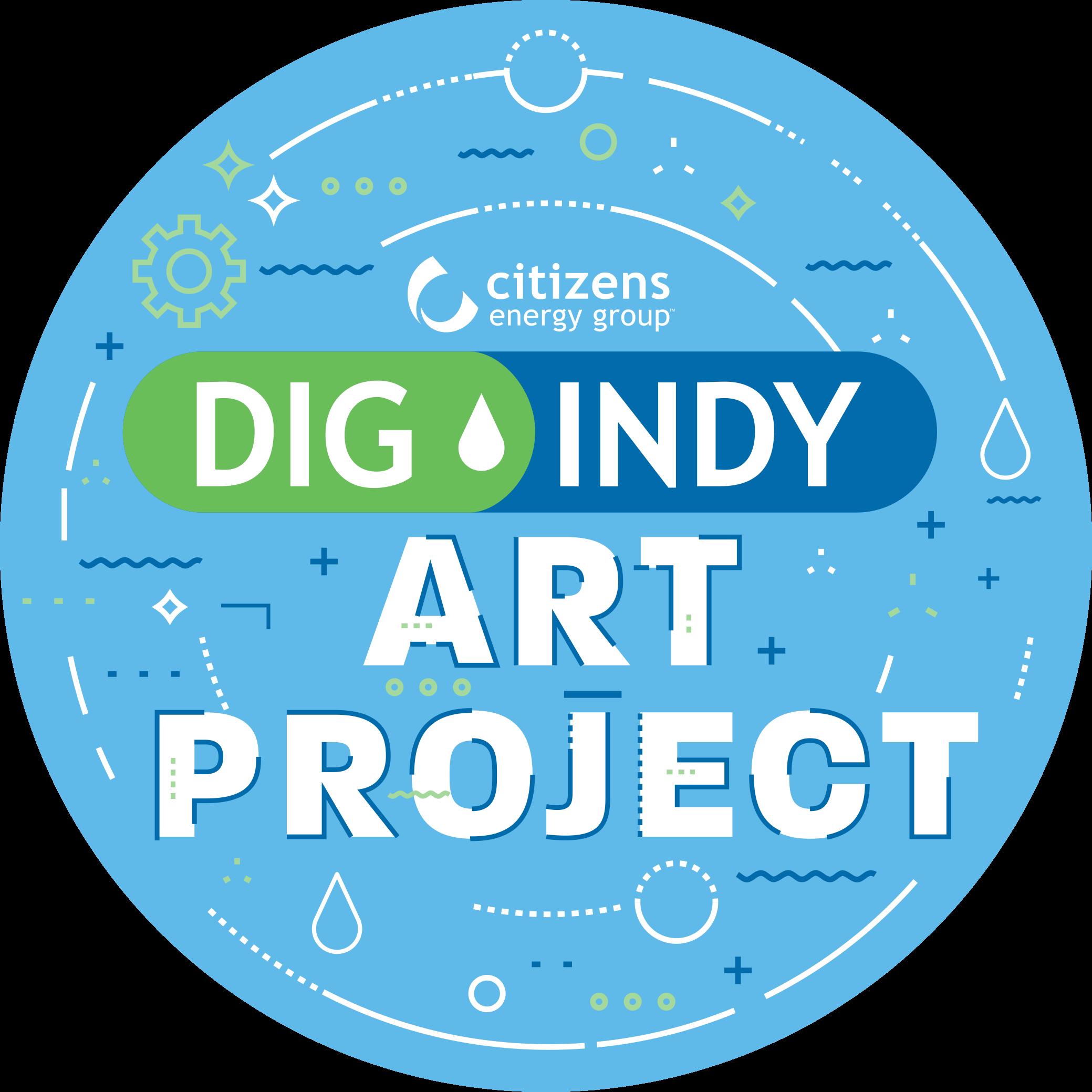 DigIndy Art Project Logo
