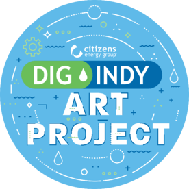 DigIndy Art Project Logo